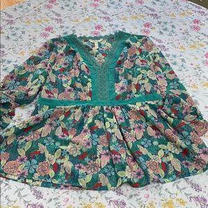 Matilda Jane floral top, xl